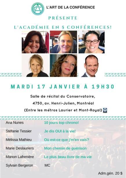 Je dis OUI à la Vie! à Montréal(Qc) le 17 janvier 2017